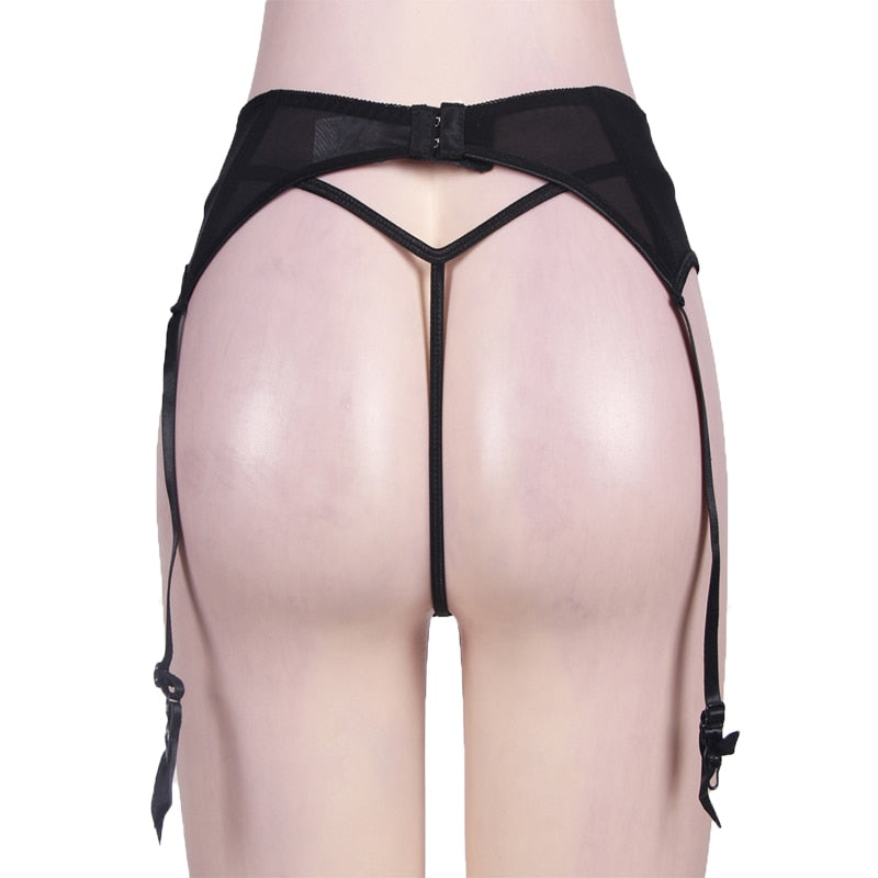 Sexy Lingerie Garter Belt For Stockings - Own Pleasures