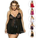 Up to 6 XL Erotic Underwear Transparent Sleepwear - Own Pleasures