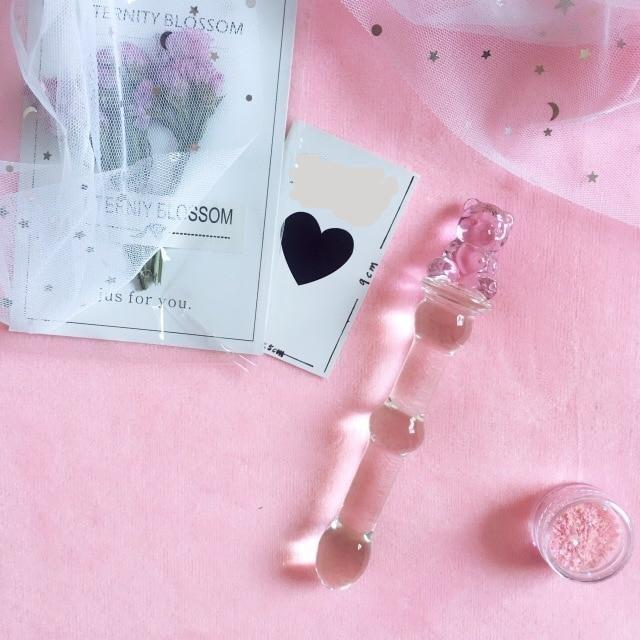 Pink Anal Glass Plugs, 8 Variants - Own Pleasures