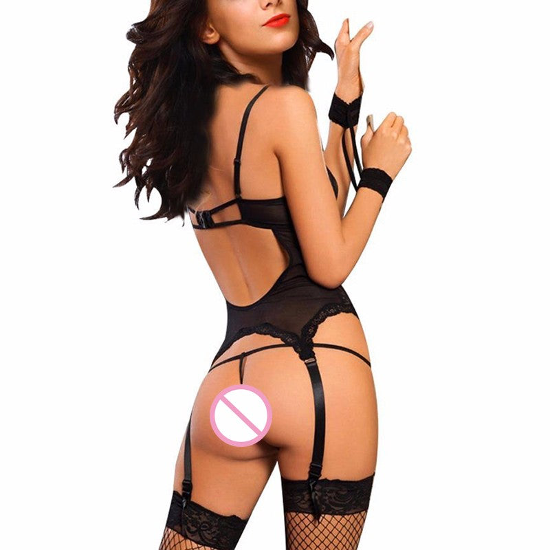 Sexy lingerie with Handcuffs - Own Pleasures