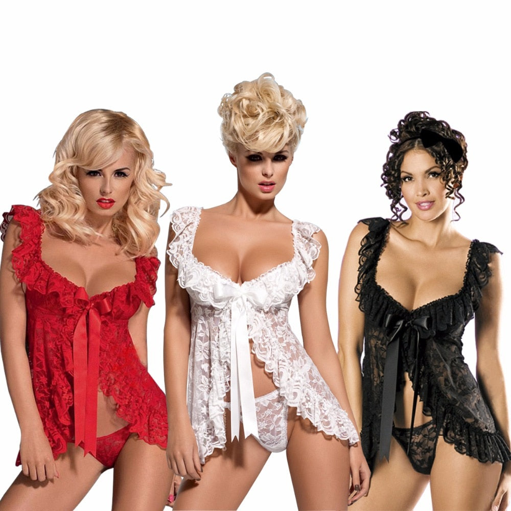 Up to 6XL Erotic and Lovely Babydoll Lingerie - Own Pleasures