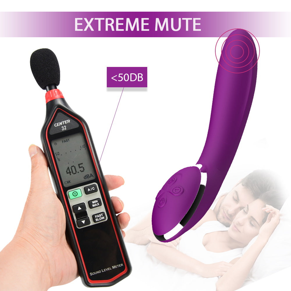 Heated Banana Dildo Vibrator For Women