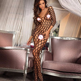 Assorted Designs Jumpsuits | Open Crotch and Bra | Up to XL