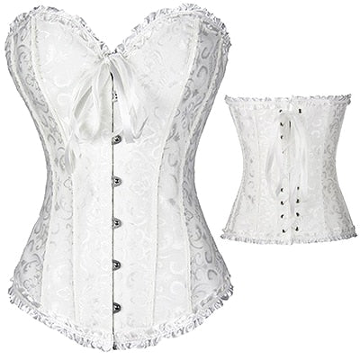 Up to 6 XL FANTASTIC Gothic Corset Shaper - Own Pleasures