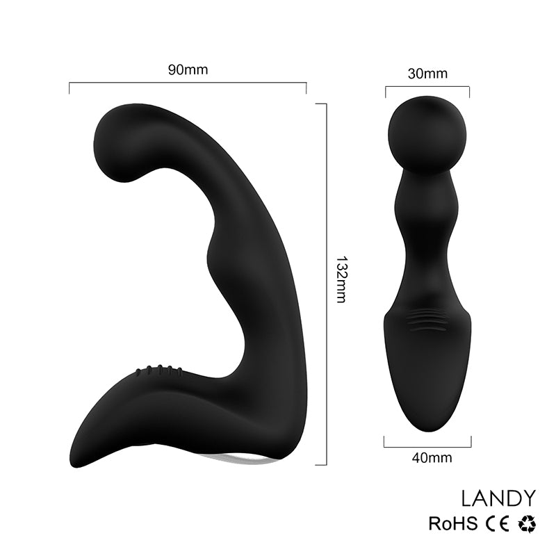 USB Speed Anal Vibrator, 2 Colors - Own Pleasures