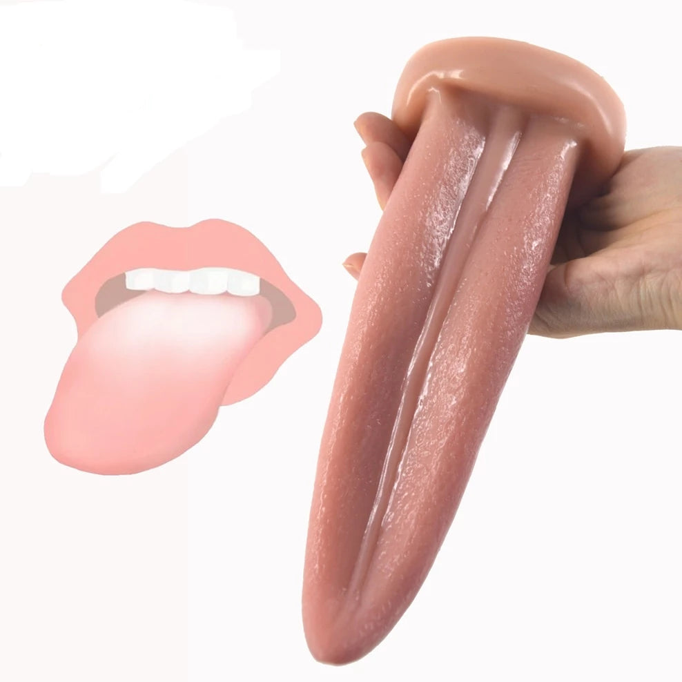 BEST SELLER Big Anal or Vaginal Dildo | Plug | Large Tongue - Own Pleasures
