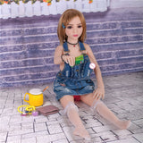 100cm Real TPE Cute Sex doll | NO smell - Own Pleasures