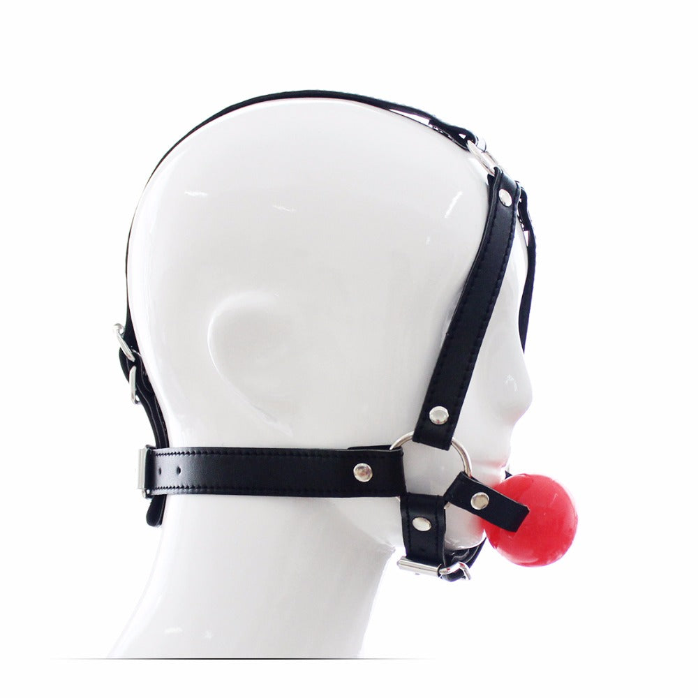 Head Harness with Mouth Gag - Own Pleasures