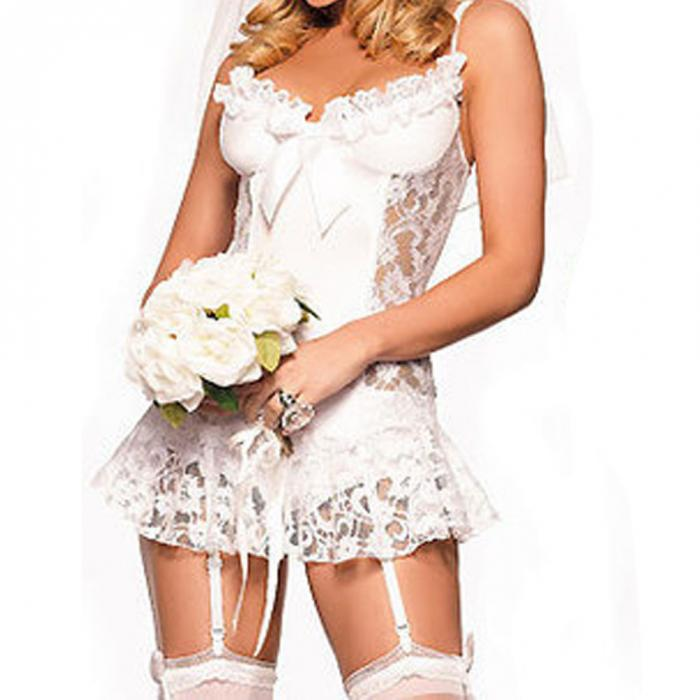 Sexy Lace Bridal Lingerie For Erotic Playtime - Own Pleasures