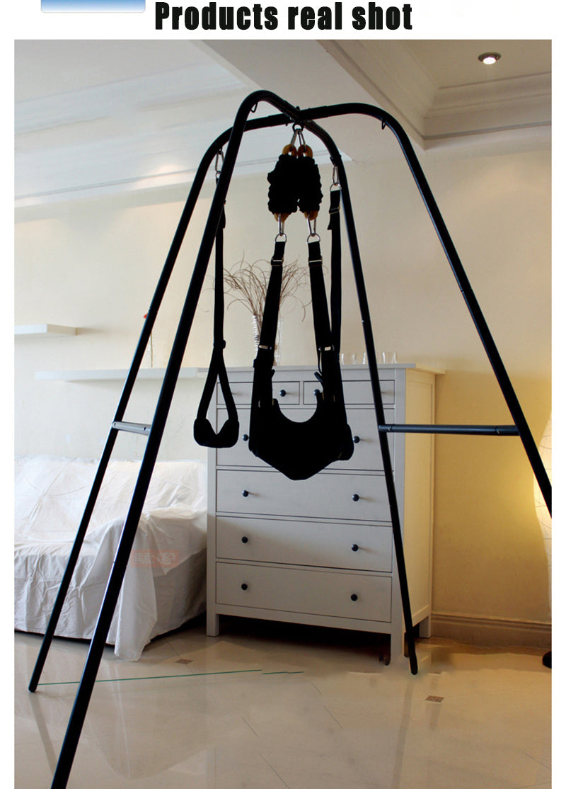 Adjustable Sex Swing Support Frame | BDSM Hanging Chair