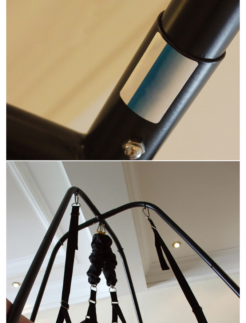 Adjustable Sex Swing Support Frame | BDSM Hanging Chair - Own Pleasures