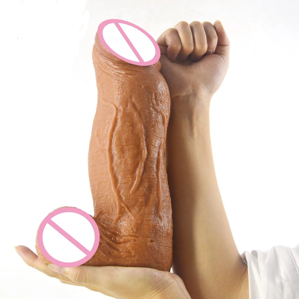 3.18 inch Thick Giant Dildo, 5 Colors - Own Pleasures