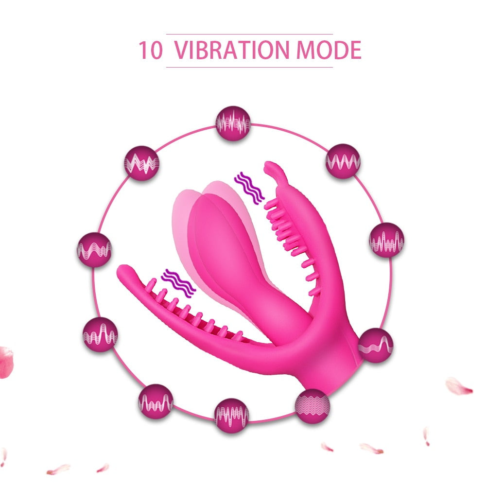 3 Point Stimulator Rabbit Vibrator for Women - Own Pleasures