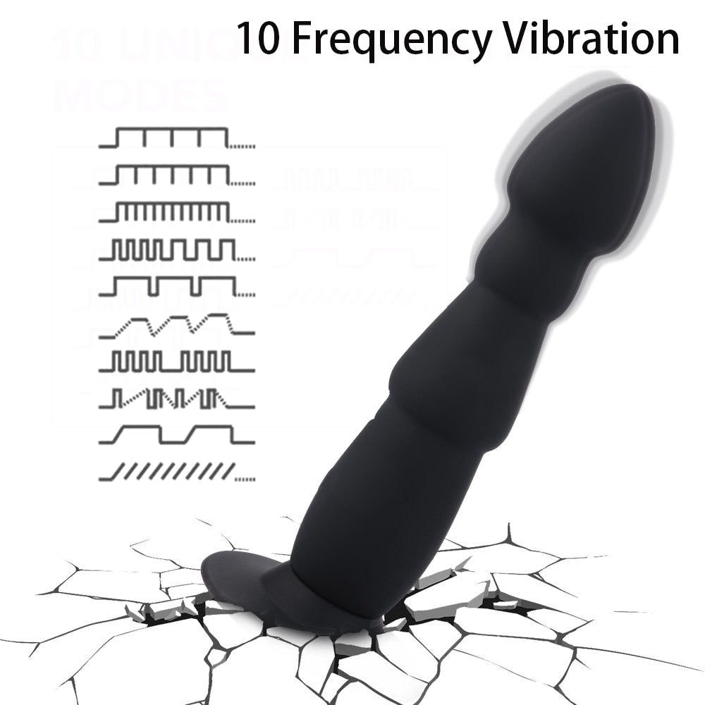 Realistic Anal Vibrator Suction Cup - Own Pleasures