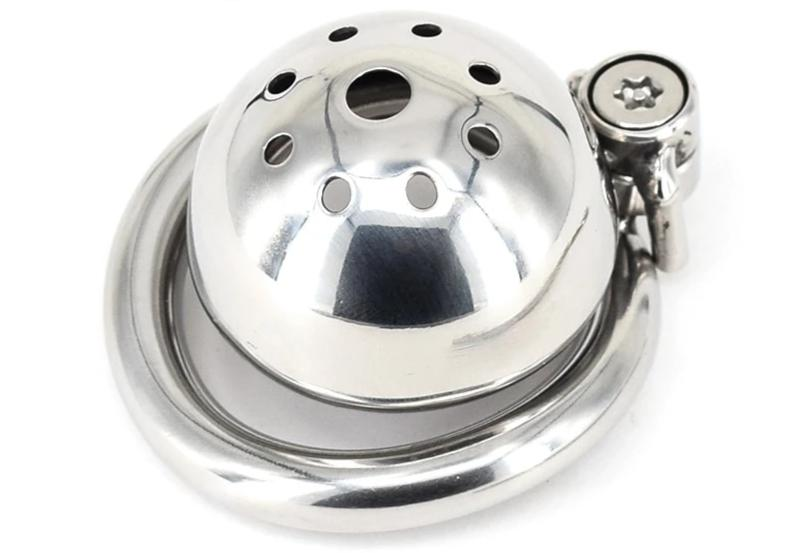 Small Stainless Steel Chastity Cage - Own Pleasures