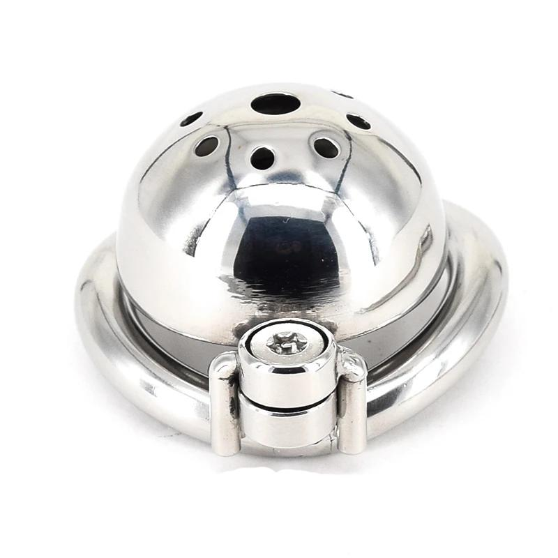 Small Stainless Steel Chastity Cage | CBT Ring