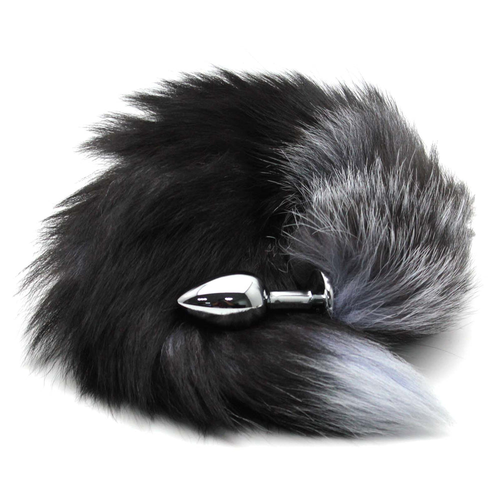 Fox Tail Stainless Steel Butt Plug - Own Pleasures