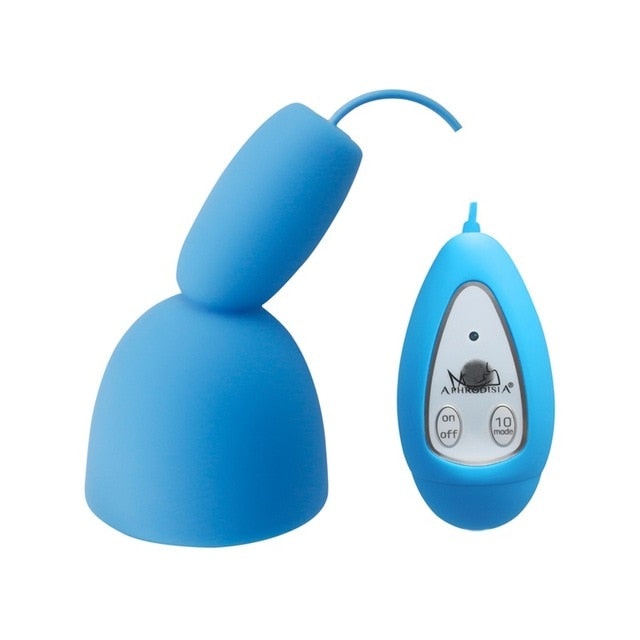 Remote Control Glans Vibrator for Men