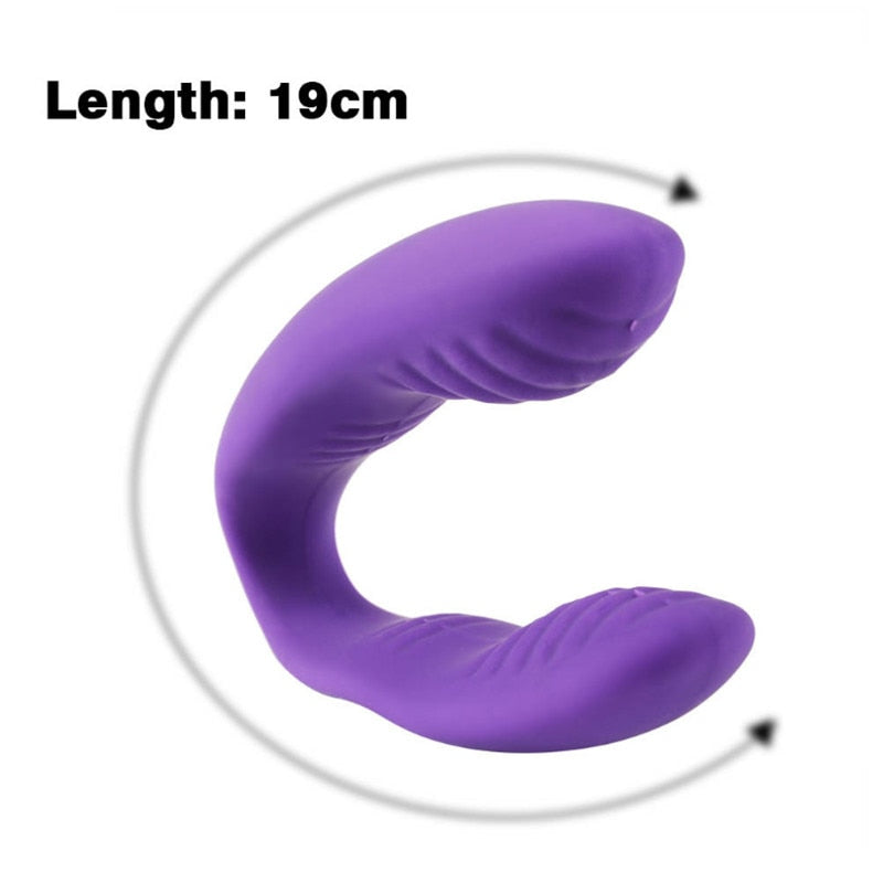 U Type Vibrator 10 Speed Vibrator - Own Pleasures