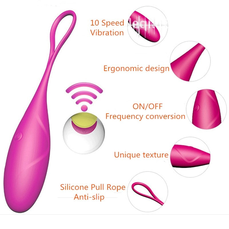 USB Wireless G-Spot Stimulation Vagina Yoga Balls - Own Pleasures