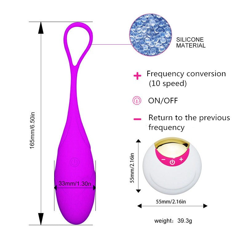 USB Wireless G-Spot Stimulation Vagina Yoga Balls