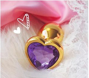 5 Colors Handmade Small Anal Plug | Stainless Steel+Crystal Jewelry - Own Pleasures