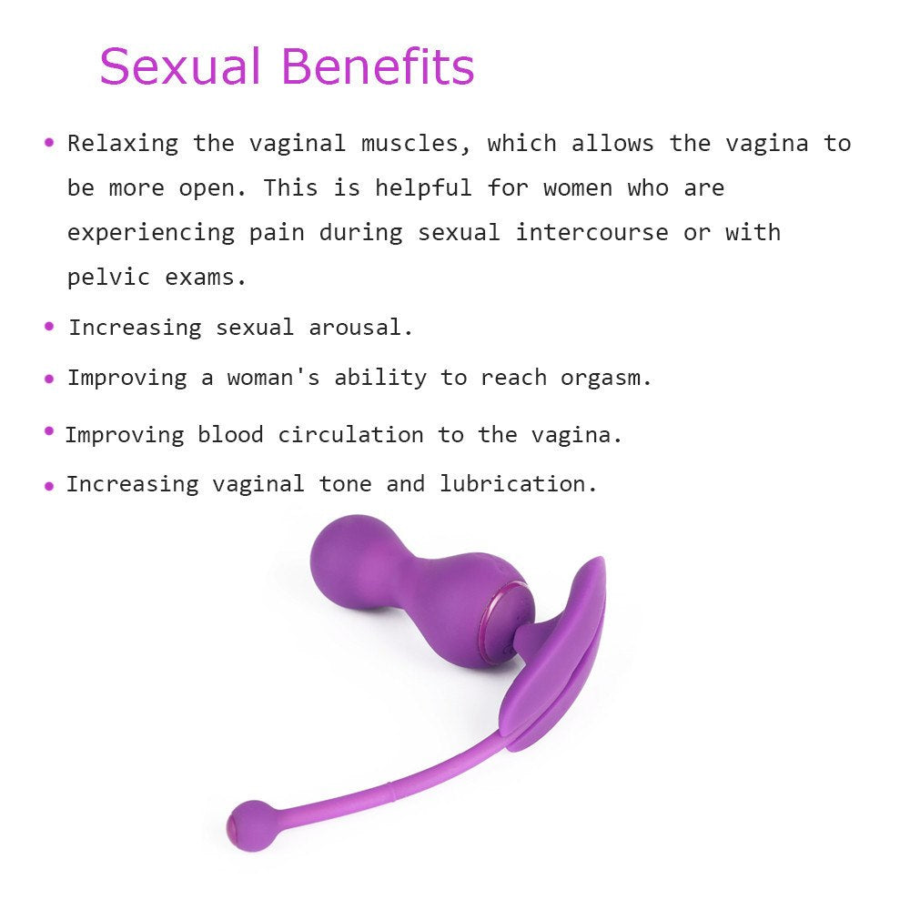 APP Control Smart Vibrating Kegel Weights