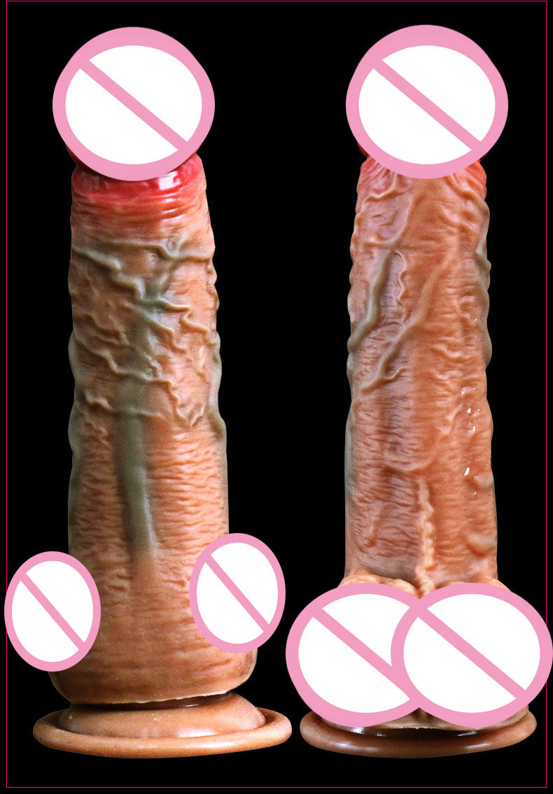 USB Rechargeable Realistic Heated Dildo with Suction Cup