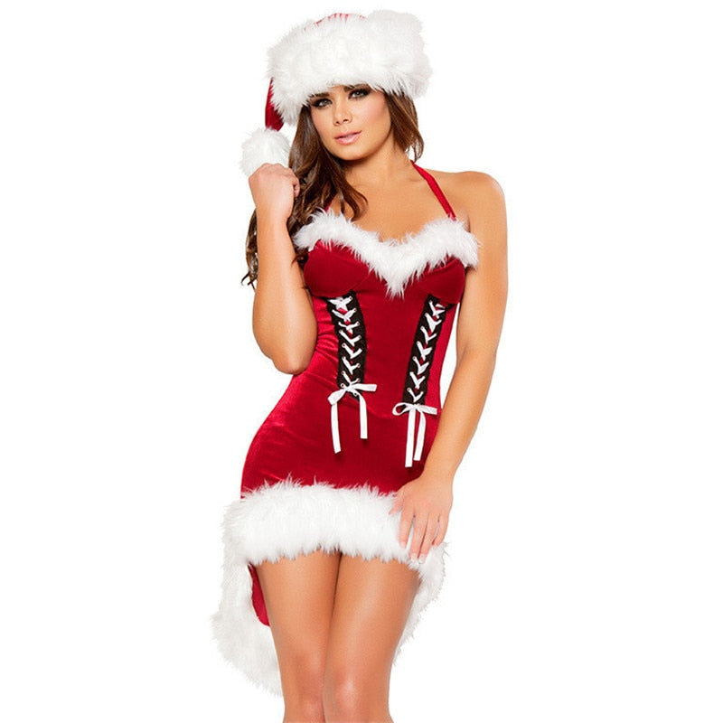 Sexy Christmas Dress | Cosplay Sexy Santa - Own Pleasures