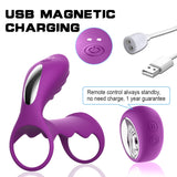Vibrating Ring and G spot Stimulator for Couples - Own Pleasures