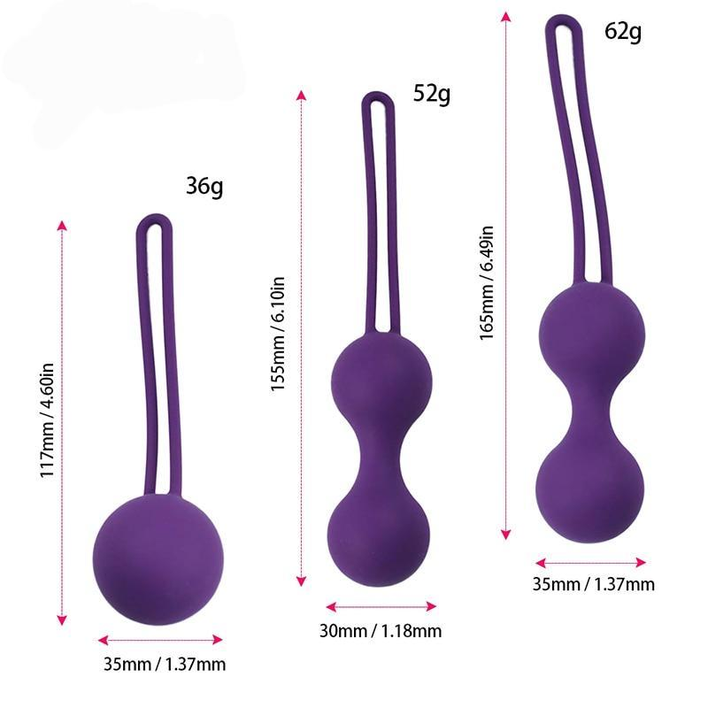 Pleasure Balls for Vagina Wall Exercise
