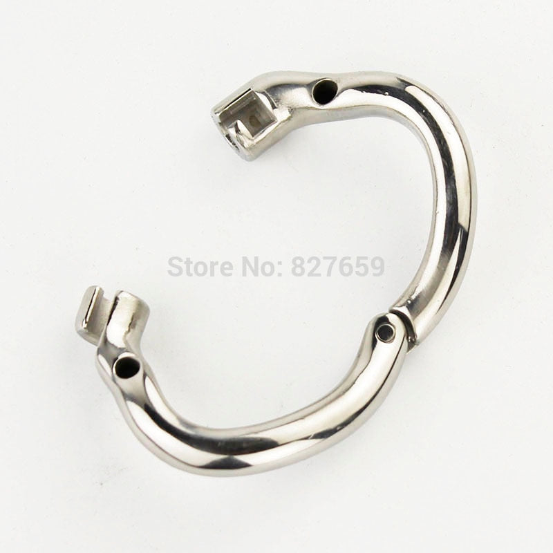 Stainless Steel  Small Chastity Device | Arc-shaped Chastity Cage