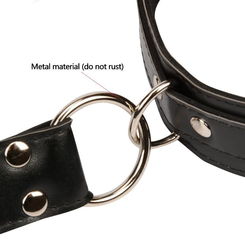 Hands Neck Collar Connecting Bondage