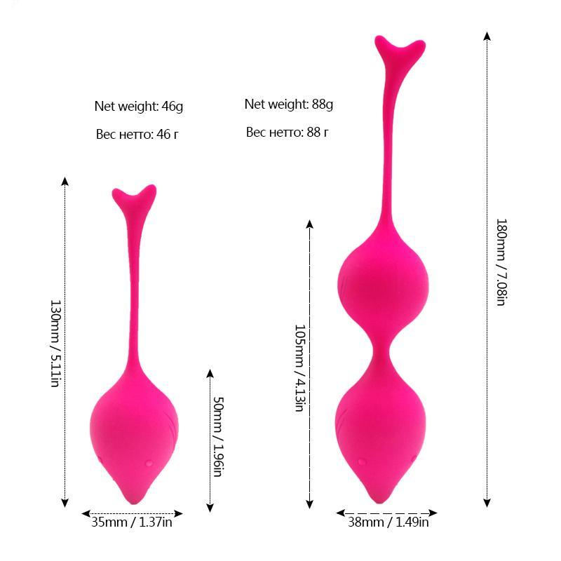 Smart Ben Wa Ball Vagina Tighten Exercise and Pleasure