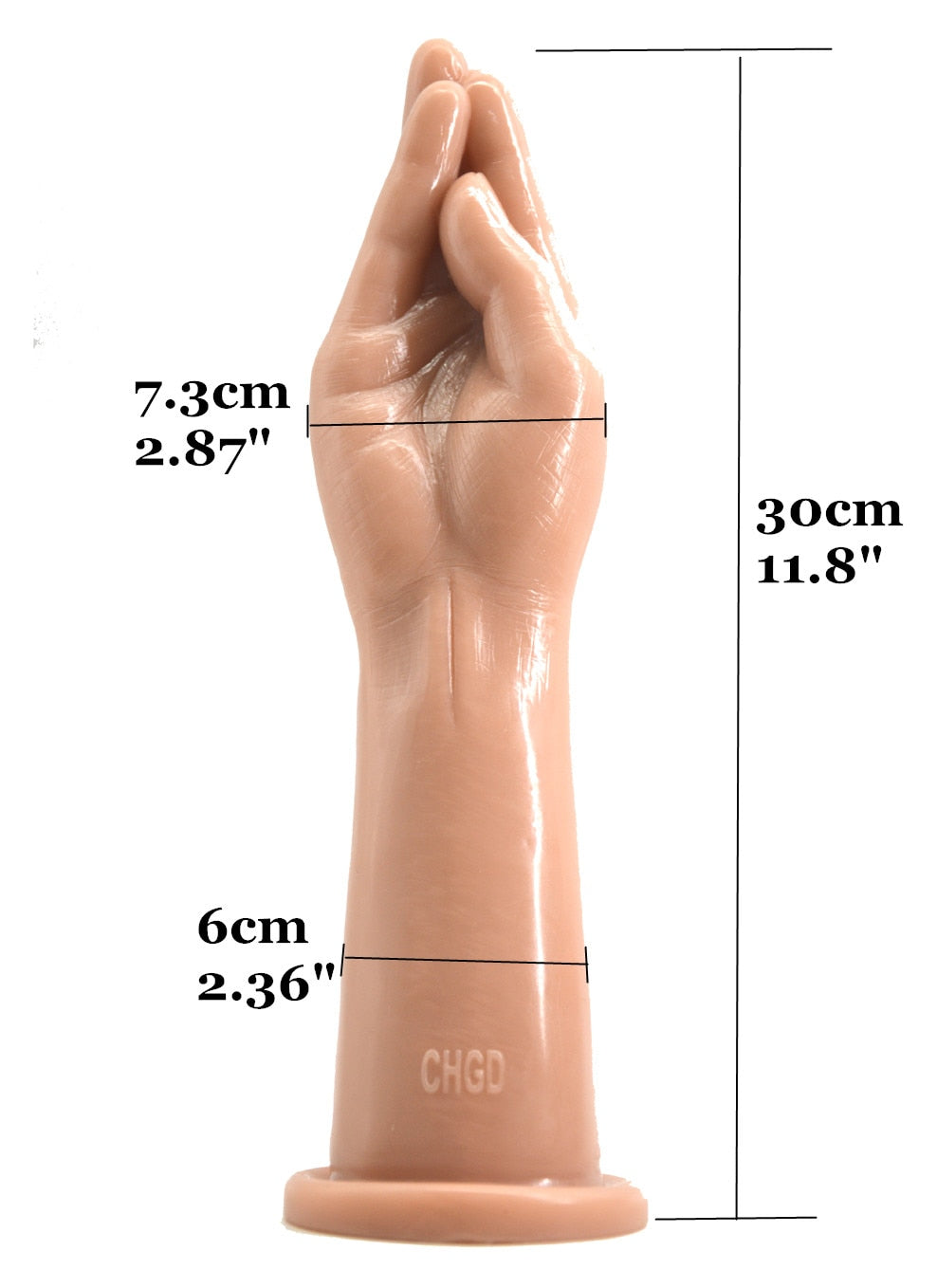 Hand Shaped Dildo, 4 Colors - Own Pleasures