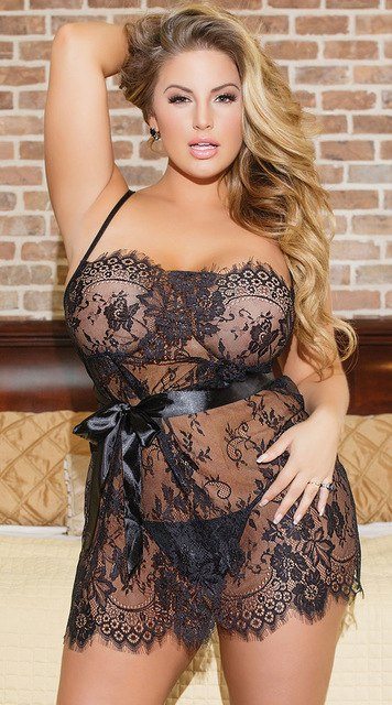 Black Lace Transparent Sexy Lingerie - Own Pleasures