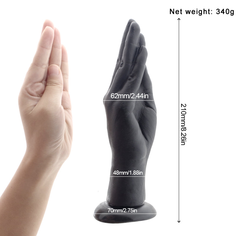 Silicone Realistic Hand Dildo - Own Pleasures