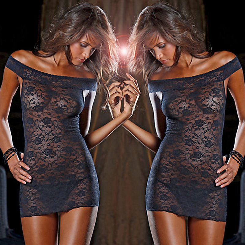 Up to XXXL Babydoll Dress and G-String - Own Pleasures