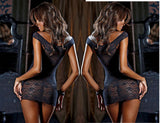 Up to XXXL Babydoll Dress and G-String