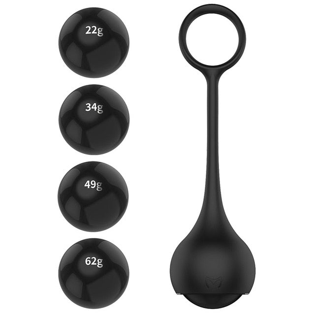 Male Penis Dumbbell Cock Ring, 4 pieces - Own Pleasures