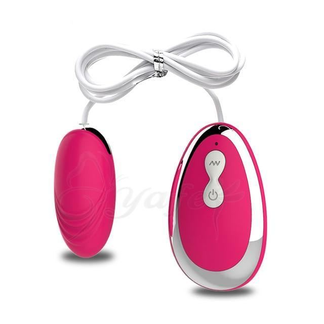 Remote Control Multi-Speed Vibrating Egg Stimulator - Own Pleasures