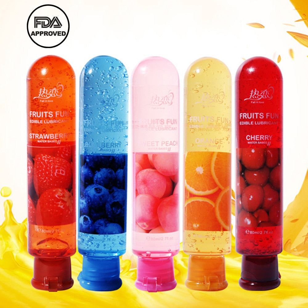 80ML Fruits Water Soluble Lube - Own Pleasures