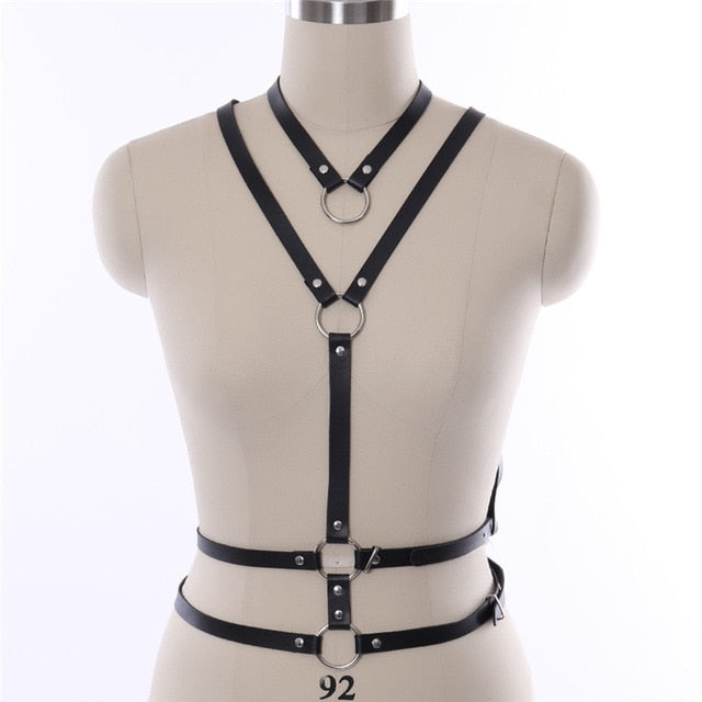 7 Types Adjustable Body Harness | BDSM Gear Lingerie
