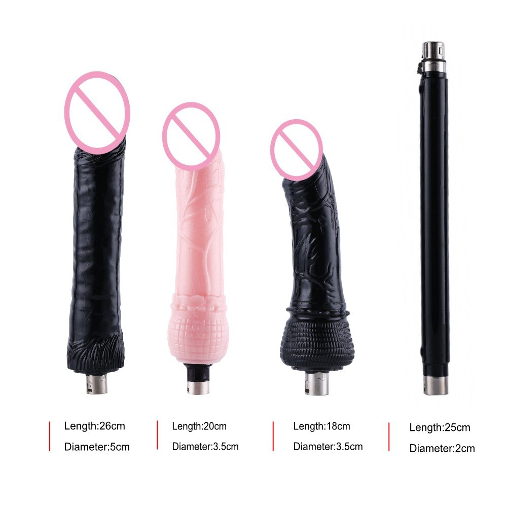 Large Dildo Sex Machine Set, 2 Colors - Own Pleasures