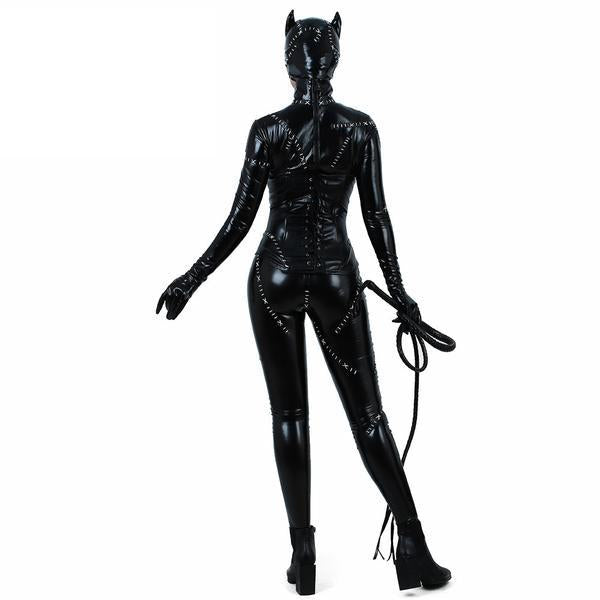 Up to XL Cat woman Cosplay | Costume Catsuit Jumpsuit