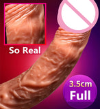 Wireless USB Heated Realistic Dildo Vibrator