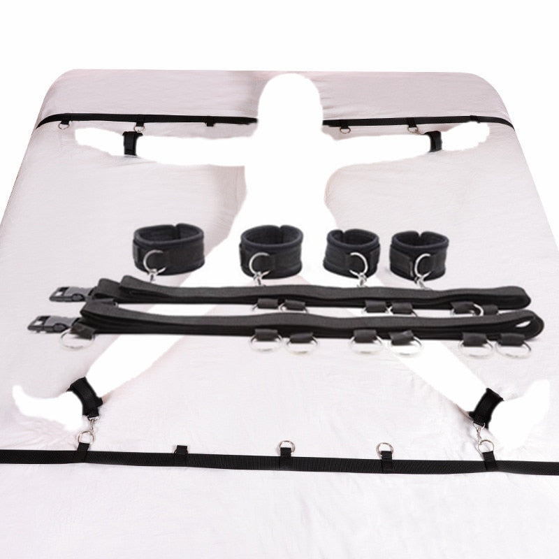 Erotic Under Bed Restraint System - Own Pleasures