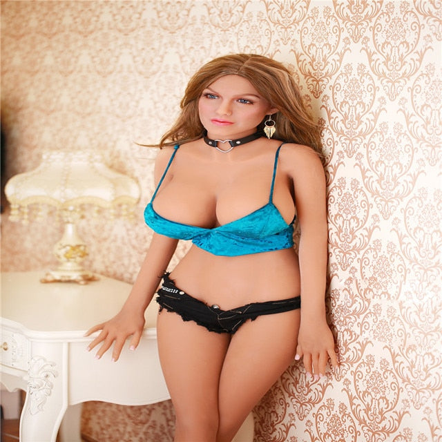 165cm Big Breast Blonde Beauty Sex Doll