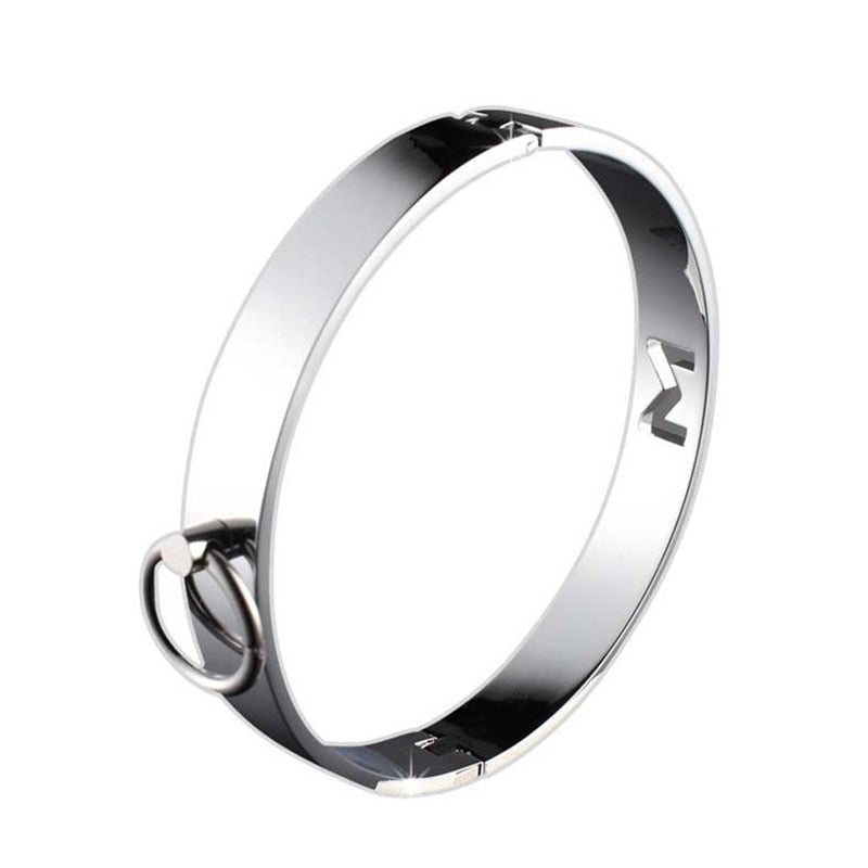 BDSM Metal Collar for Men - Own Pleasures