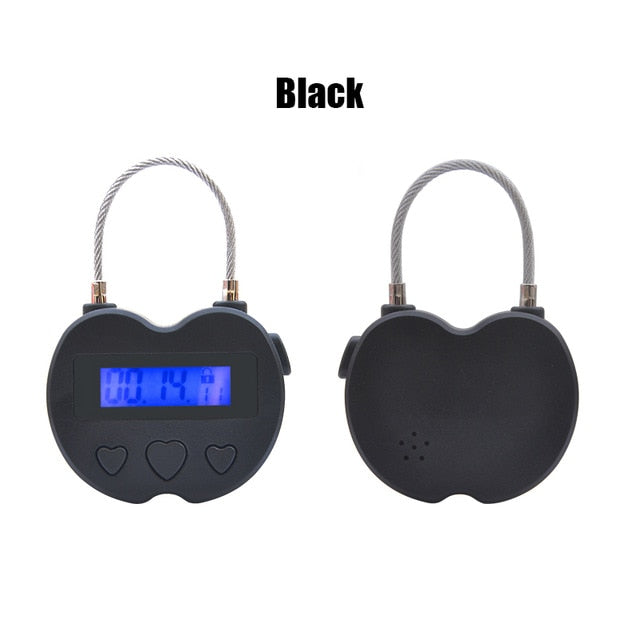 Time Lock Fetish Handcuffs | Gag Electronic Timer | BDSM Bondage Restraints